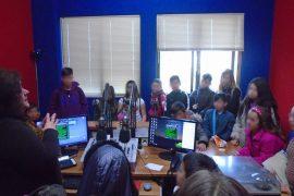 Επίσκεψη από το Δημοτικό Σχολείο Γουριάς